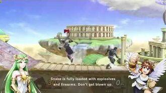 Super Smash Bros. Ultimate - Palutena's Guidance Snake