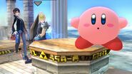 Kirby Cloud Strife and Bayonetta