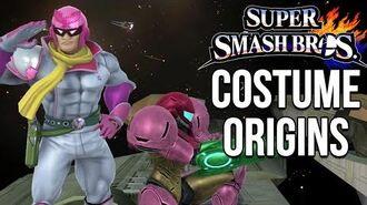 Super Smash Bros. Costume Origins - Metroid, Star Fox, Captain Falcon