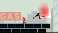Back Slash Leap