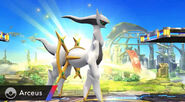 Arceus in the battlefield