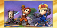 Mii Fighters victory 1
