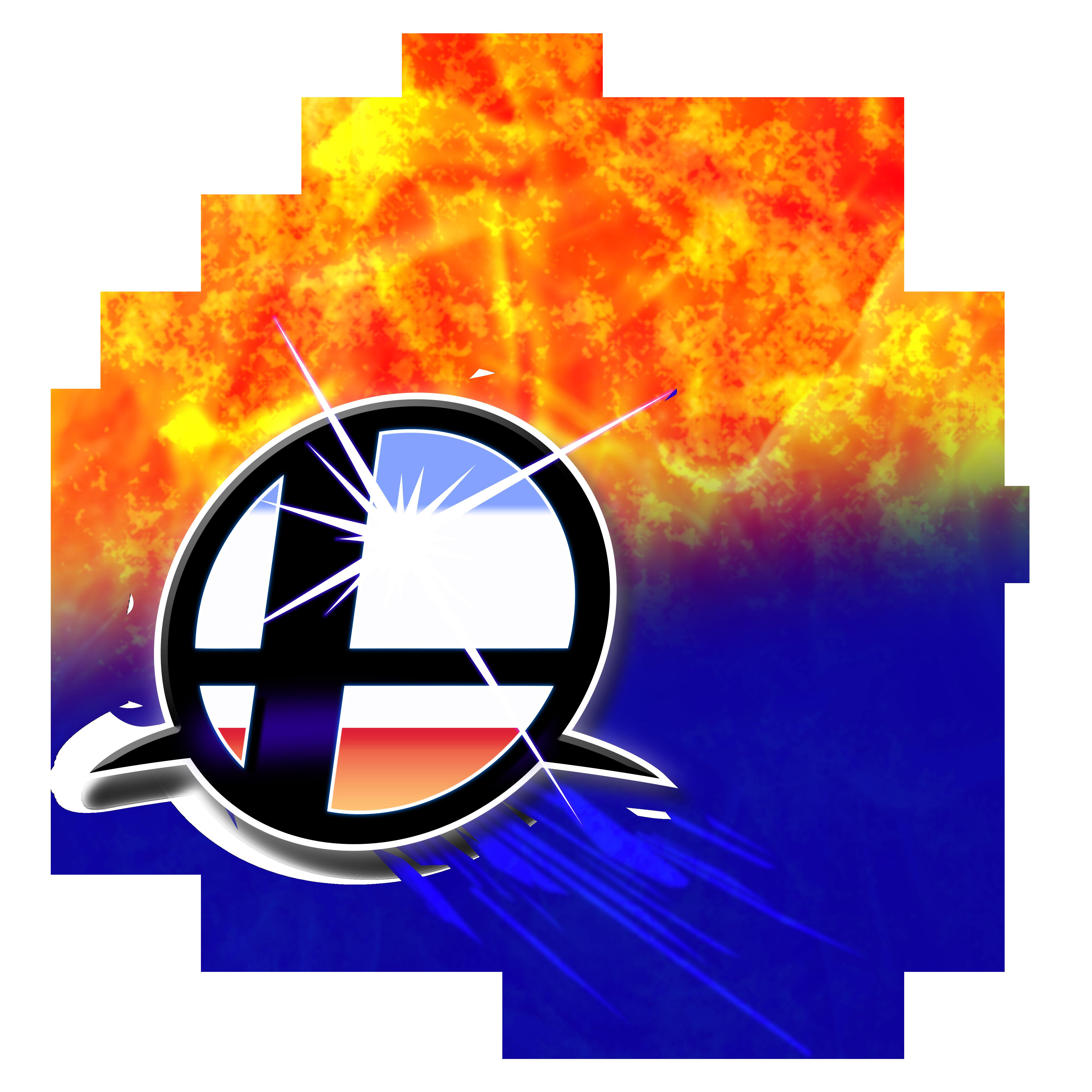 Bagasdi: Flame Super Smash Bros Ultimate Logo