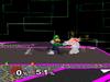 Luigi Dash attack SSBM