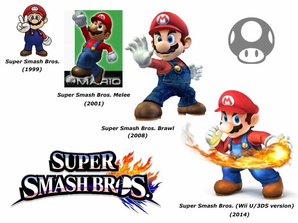 Mario Super Smash Bros Evolution