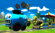 Link and Pikachu Spirit Train SSB4