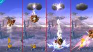 Pikachu Thunder Meteor Smash