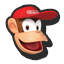 Stock SSB4 diddy kong