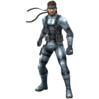 Snake - Super Smash Bros. Brawl