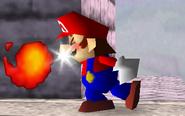 Fireball Mario SSB