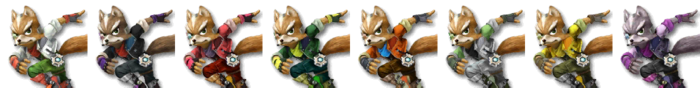 Fox Palette (SSB4)