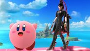 Kirby and Bayonetta