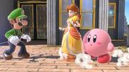 Luigi Daisy and Kirby