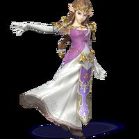 Zelda - Super Smash Bros. for Nintendo 3DS and Wii U