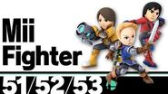 51-53 Mii Fighter – Super Smash Bros