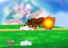 Donkey Kong Forward smash SSB