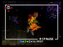 Ridley in Planet Zebes (Super Smash Bros.)