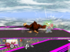 Donkey Kong Down smash SSBM