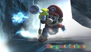 Mario Congratulations Screen Classic Mode Brawl