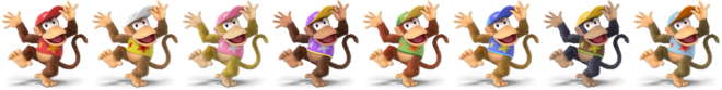 Diddy Kong Palette (SSBU)