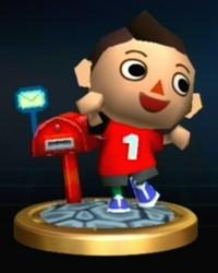 Animal Crossing Boy Trophy