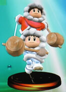 Ice Climbers smash 2 trophy (SSBM)