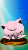 Jigglypuff Trophy Smash Red SSBM
