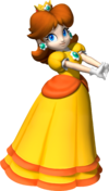 Daisy Artwork - Mario Party 8