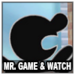 Mr. Game & Watch Icon SSBWU