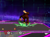 Donkey Kong Down throw SSBM