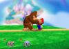Donkey Kong Grab SSB