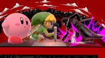 Joker Toon Link and Kirby