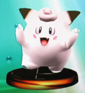 Clefairy trophy125