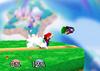 Mario Forward throw SSB