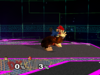 Donkey Kong Forward throw SSBM