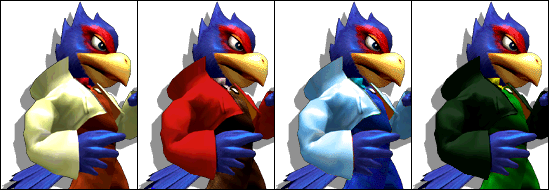 FalcoColorsMelee