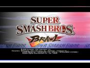 SSBB Title screen 4-3