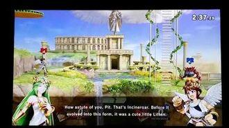 Super Smash Bros. Ultimate - Palutena's Guidance Incinearoar