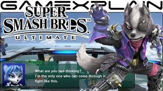 Super Smash Bros Ultimate All Secret Star Fox Conversations on Lylat Cruise (Easter Egg)