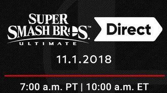 Super Smash Bros Ultimate Direct - 11.01.2018