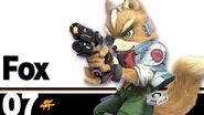07 Fox – Super Smash Bros