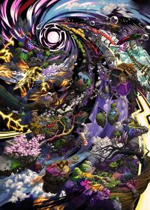Mysterious Dimension Map SSBU