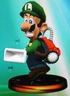Vacuum Luigi trophy (SSBM)