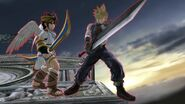 Cloud strife and pit by user15432-db7q7cb
