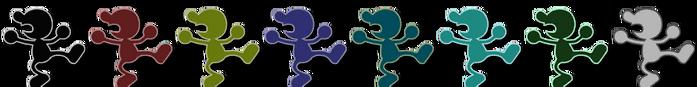 Mr. Game & Watch Palette (SSB4)