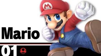 01 Mario – Super Smash Bros