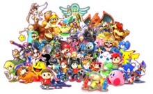 Smash Bros Composision