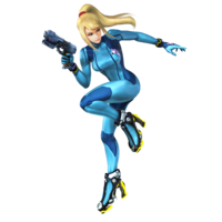 Zero Suit Samus - Super Smash Bros. for Nintendo 3DS and Wii U