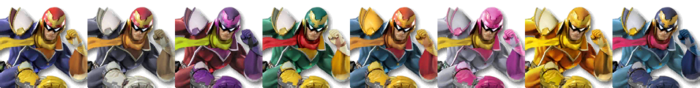 Captain Falcon Palette (SSB4)