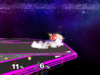 Sheik Floor attack (front) SSBM
